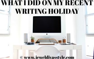 What I Did On My First Writing Holiday for 2018