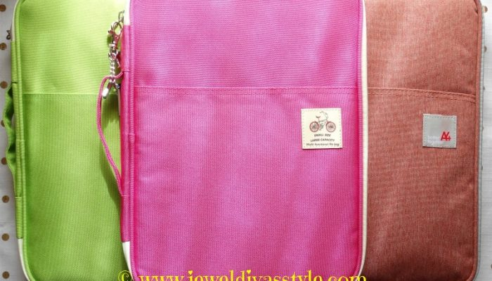 Brand New Coloured Writing Folios
