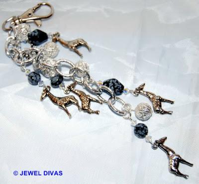 AFRICAN SAFARI: Giraffe jewellery still for sale at Jewel Divas.