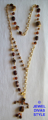 GOLD+-+NECKLACE+-++BEADIE+BOT+-+1.50+MADE