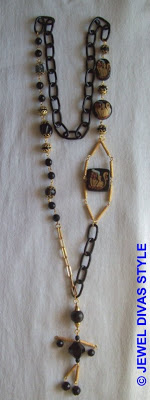 GOLD+-+NECKLACE+-++BEADIE+BOT+-+2+MADE