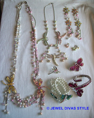 SET+-+PINK+DRAGONFLIES+-90.33+EBAY-MADE