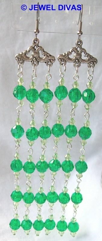 AC EMERALD earrings