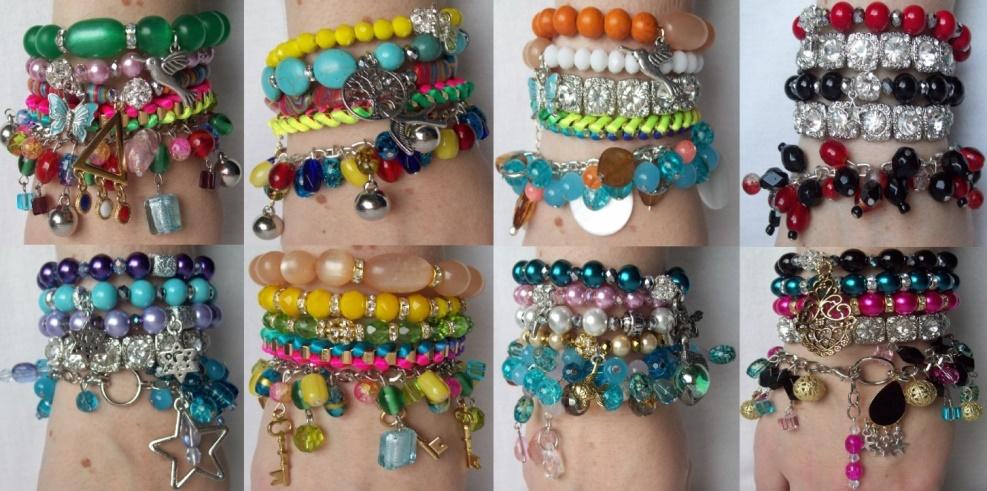 GAOH bracelet stacks