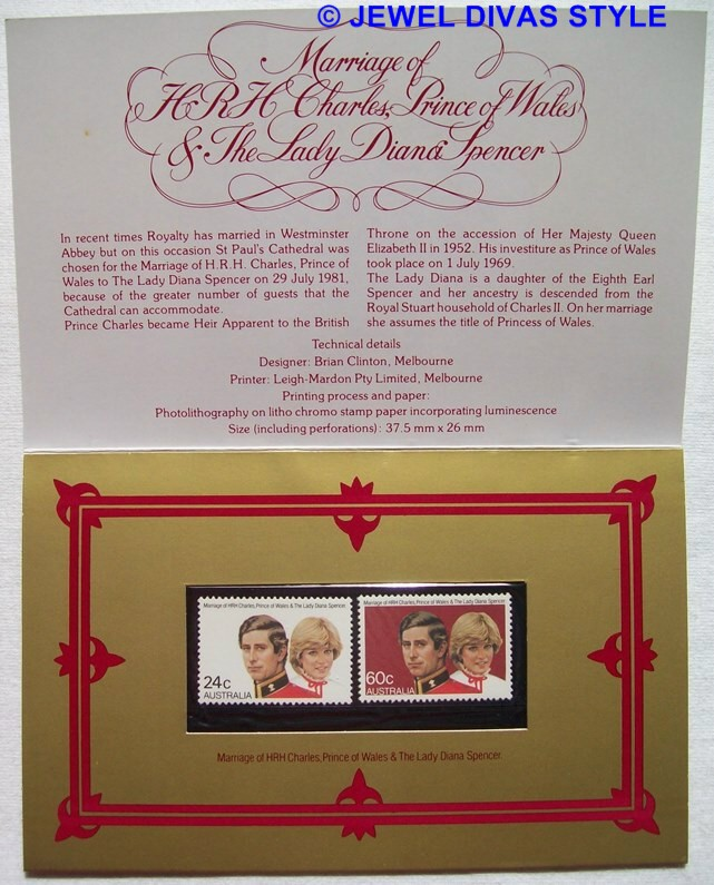 CHARLES AND DIANA STAMPS