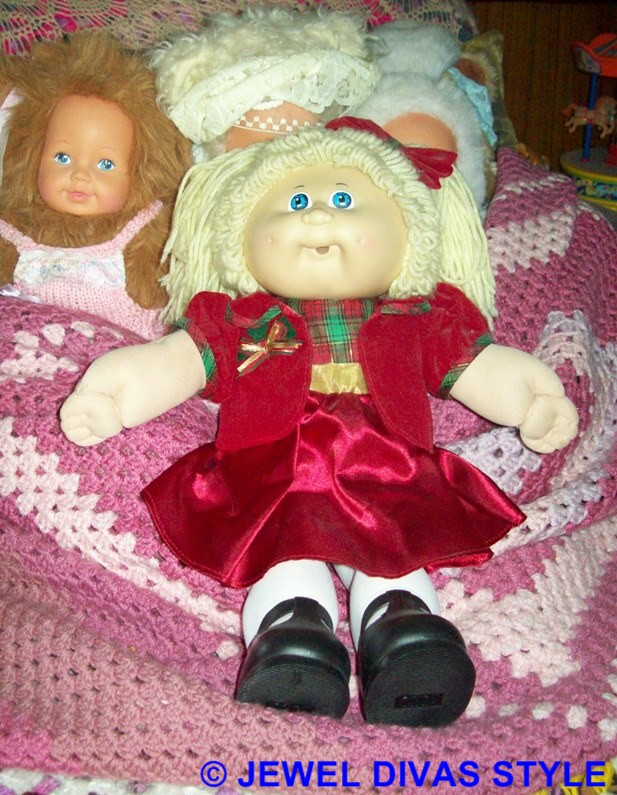 CABBAGE PATCH KID MISTY BLUE KING
