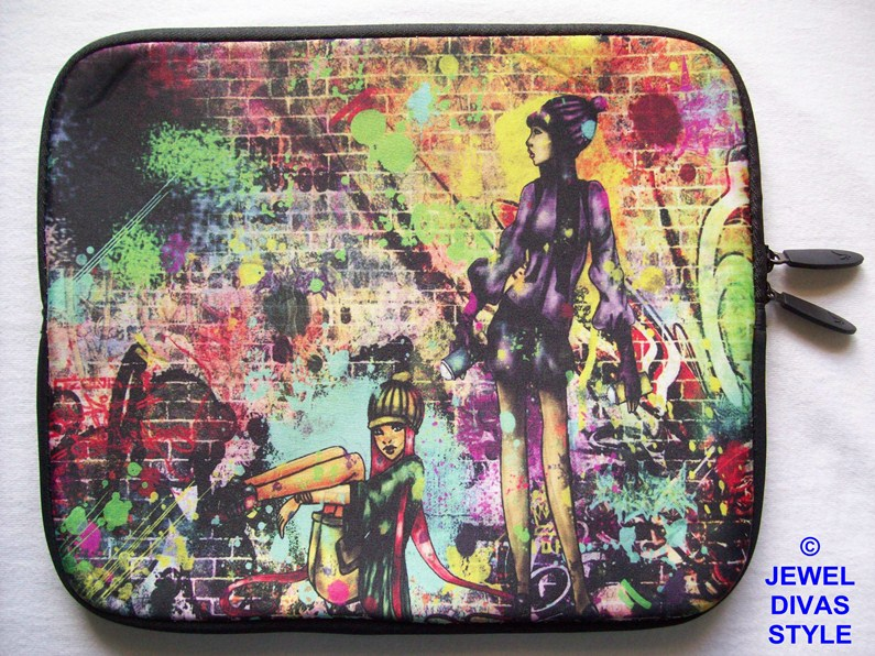 graffiti notebook purse