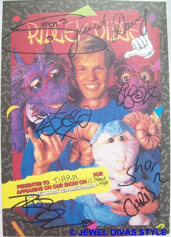 Australian children's tv show Ridgey Didge certificate