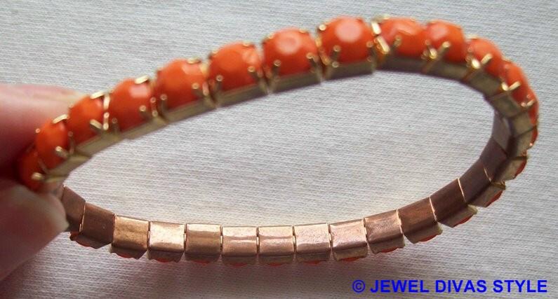 discoloured bracelet