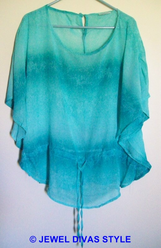 Millers green blouse