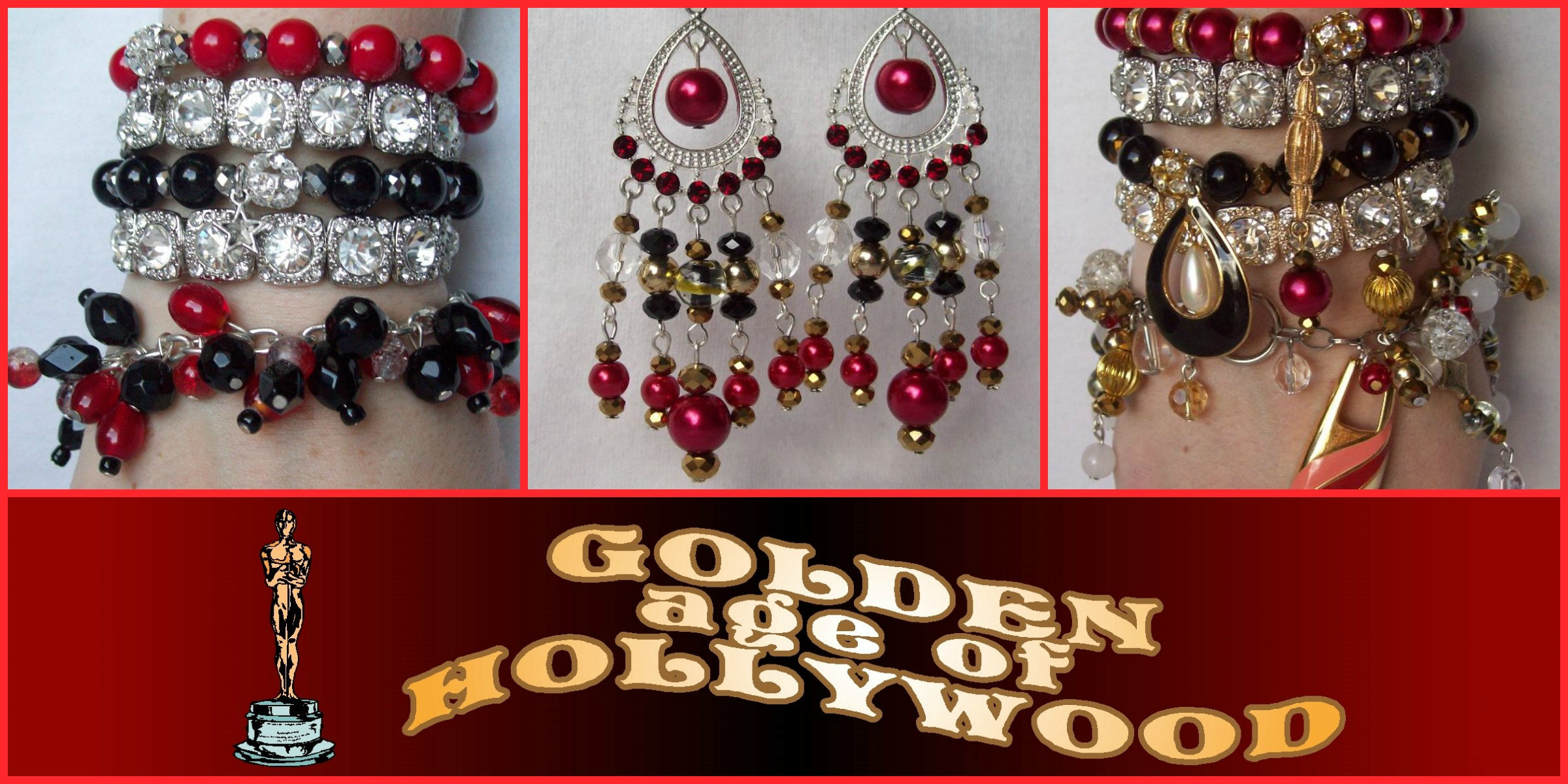 GOLDEN AGE OF HOLLYWOOD: Available now at Jewel Divas