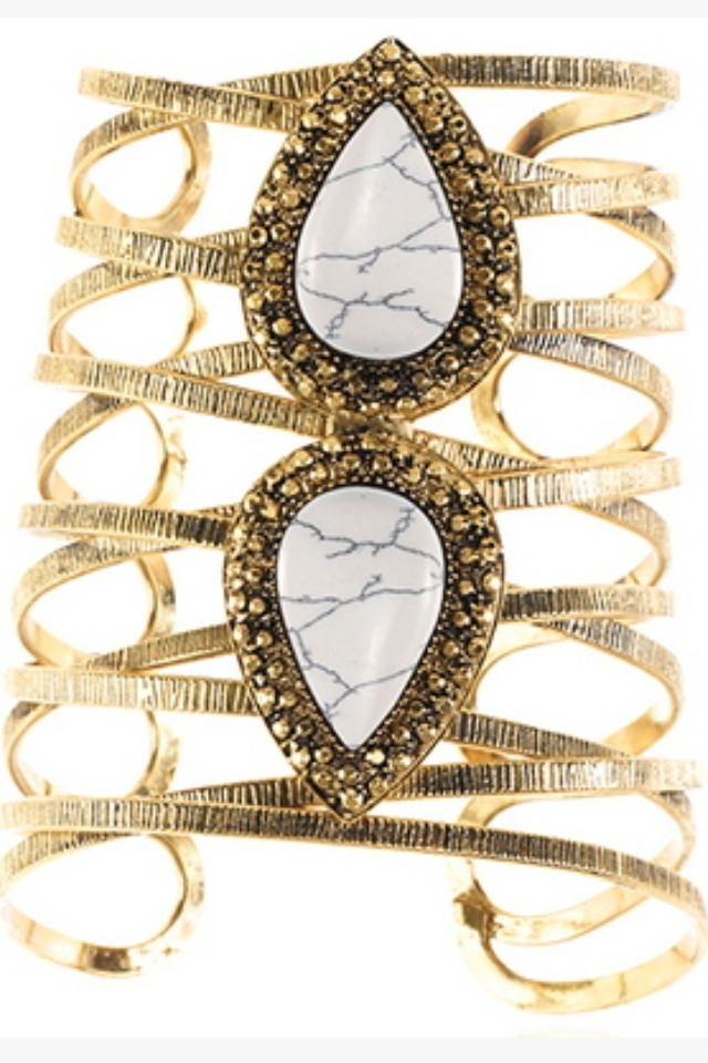 DESIGNER INSPIRED: How to make your own version of Samantha Wills Bohemian Bardot cuff
