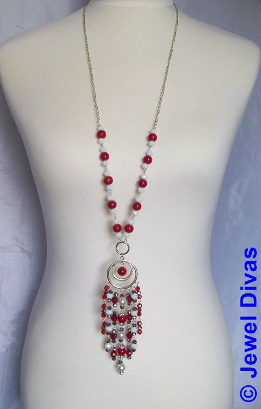 "JEWEL DIVAS ""VALENTINA"" NECKLACE"