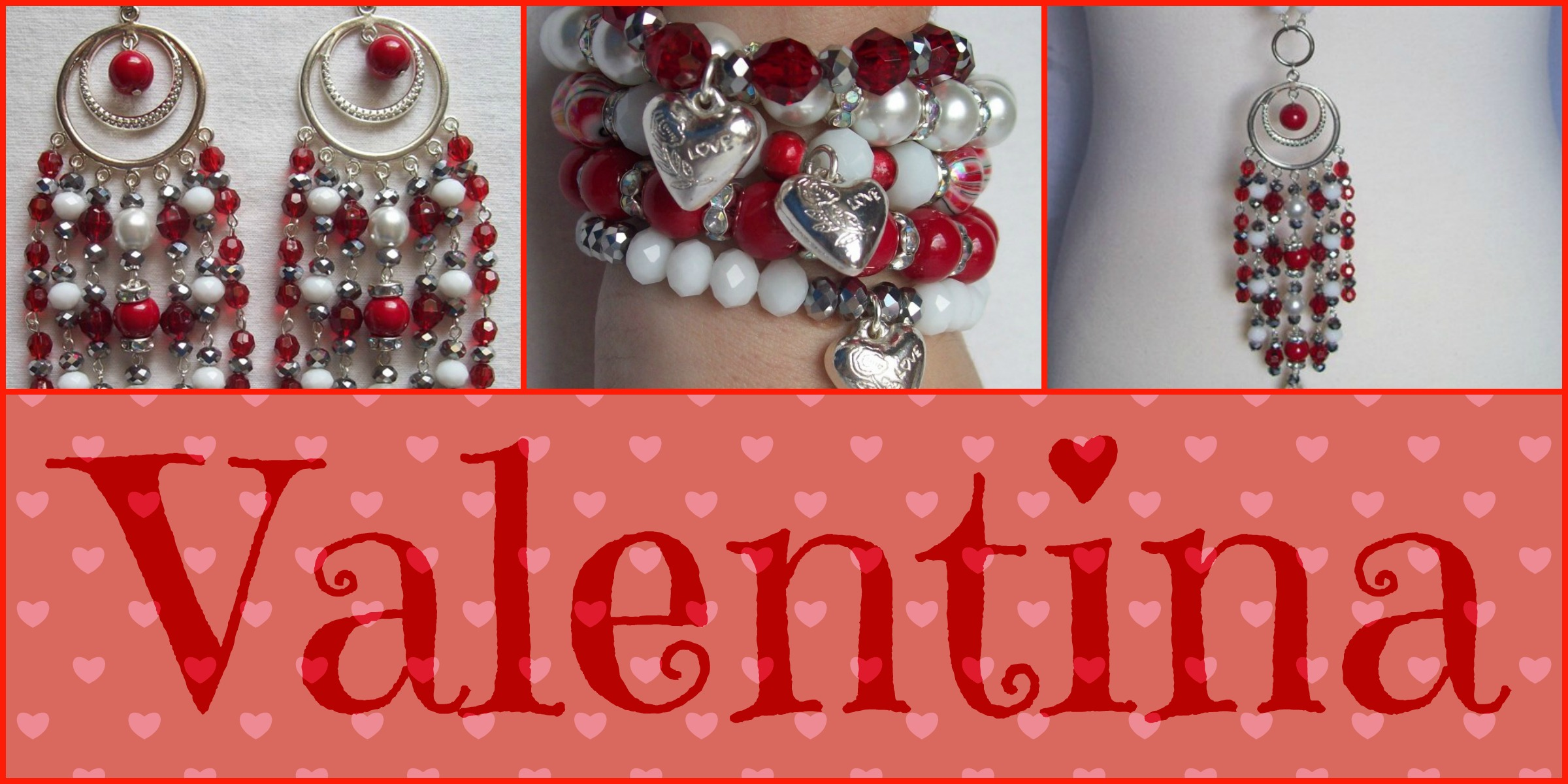 "JEWEL DIVAS ""VALENTINA"" JEWELLERY SET"