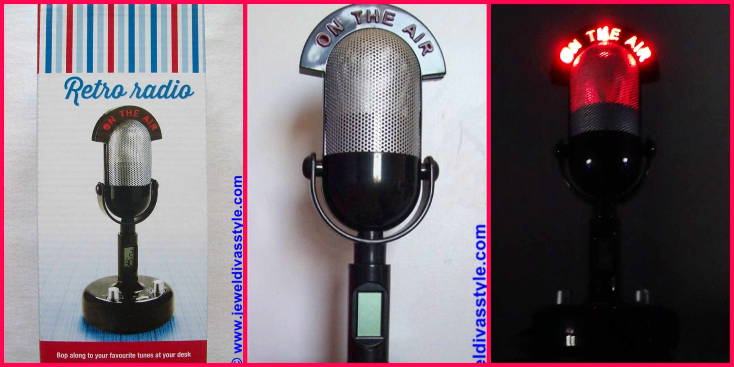 MICROPHONE RADIO CLOCK