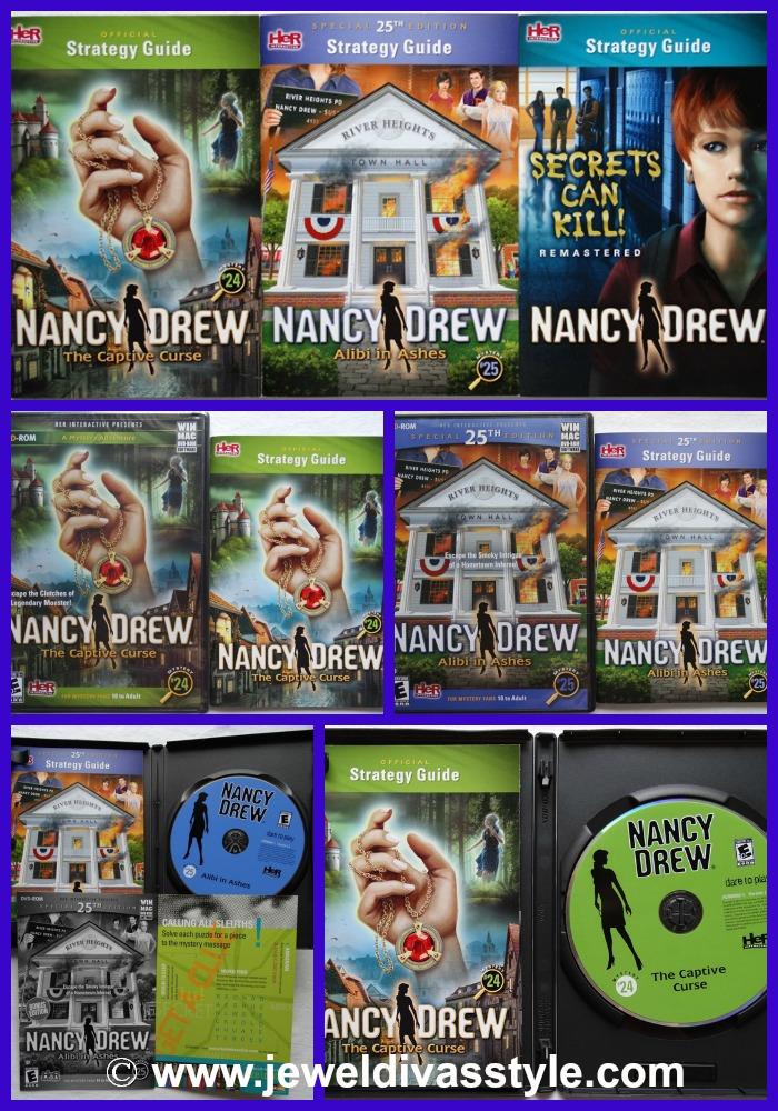JDS NANCY DREW PC GAMES