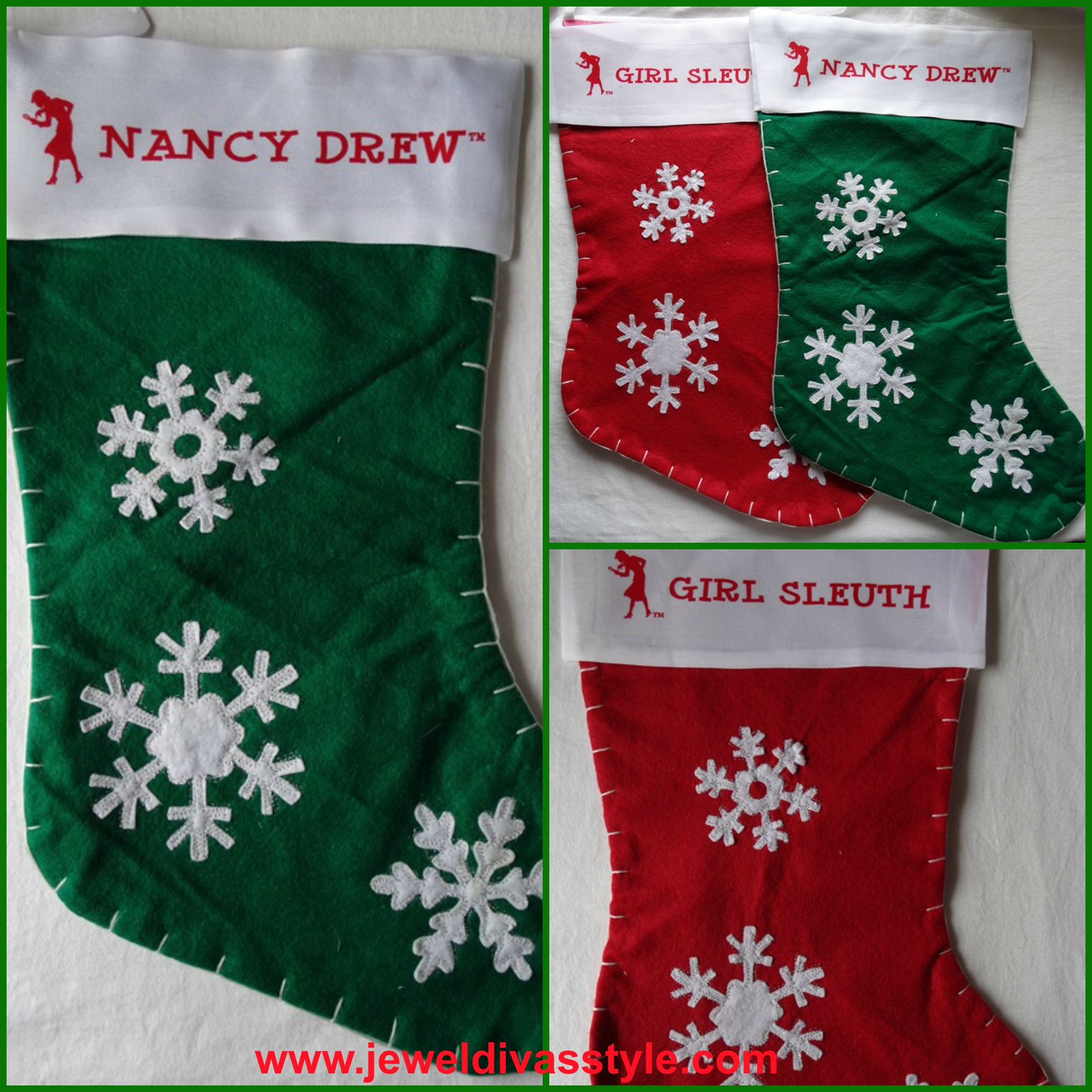 NANCY DREW STOCKINGS