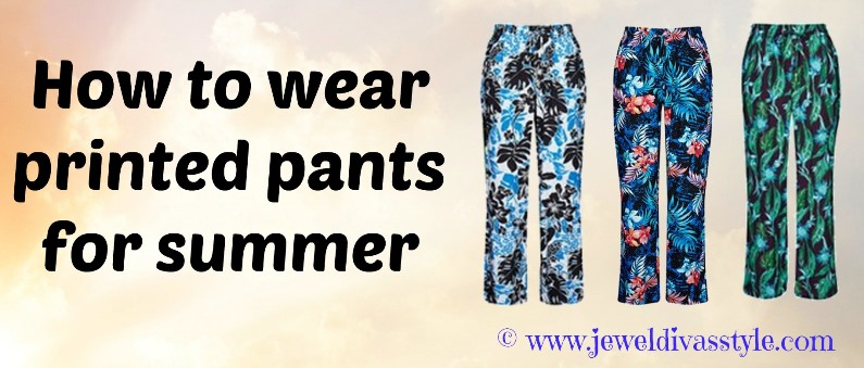 JDS - PRINTED PANTS