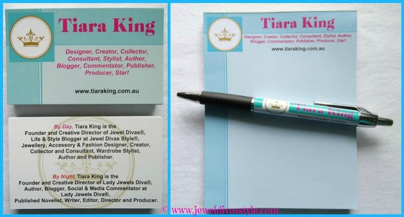 JDS - TIARA KING BUSINESS CARDS