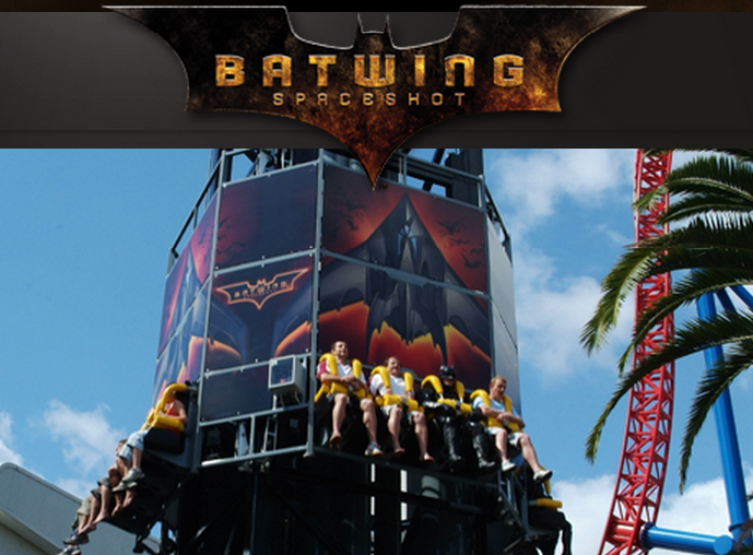 MOVIEWORLD - BATWING SPACESHOT