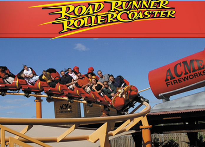 MOVIEWORLD - ROAD RUNNER ROLLERCOASTER