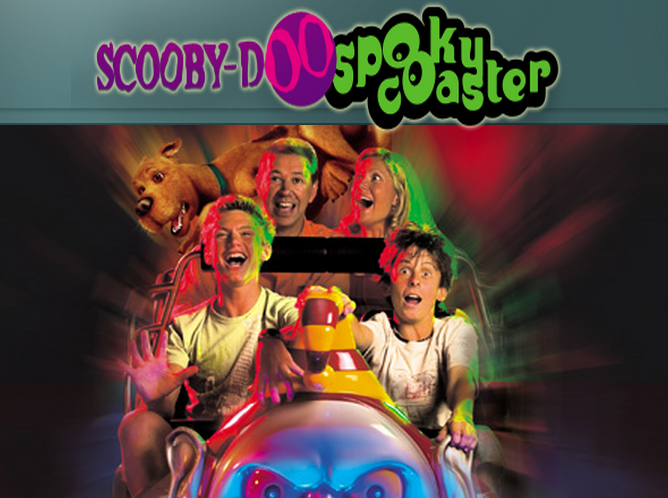MOVIEWORLD - SCOOBY DOO SPOOKY COASTER