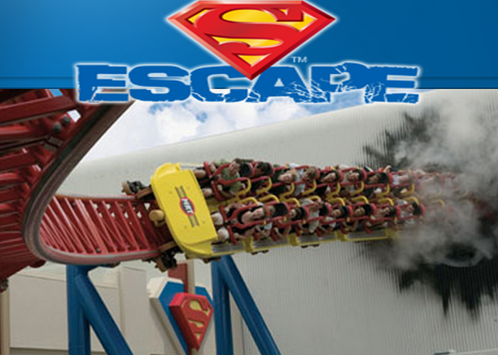MOVIEWORLD - SUPERMAN ESCAPE