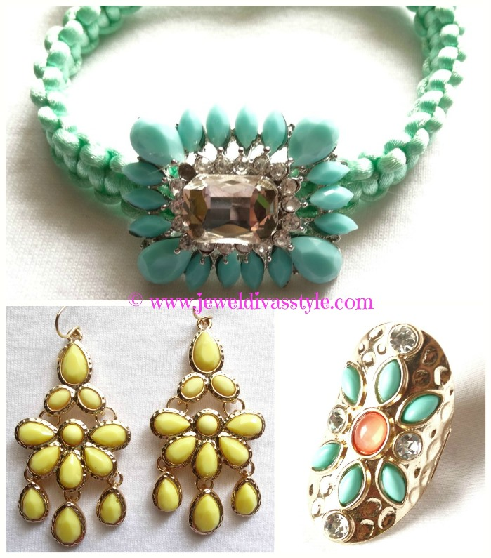 JDS - GREEN AND YELLOW JEWELS