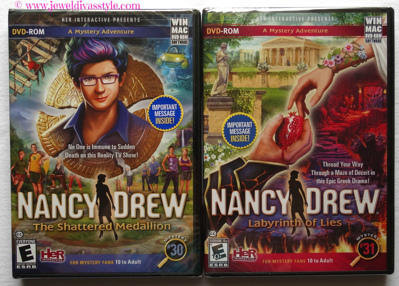 JDS - NANCY DREW GAMES