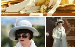 FASHION STYLE: The Fabulously Glamorous Miss Phryne Fisher, recap 7