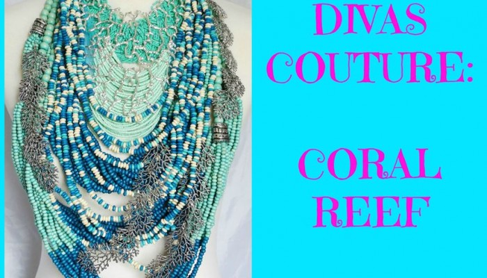 COUTURE STYLE: Coral Reef