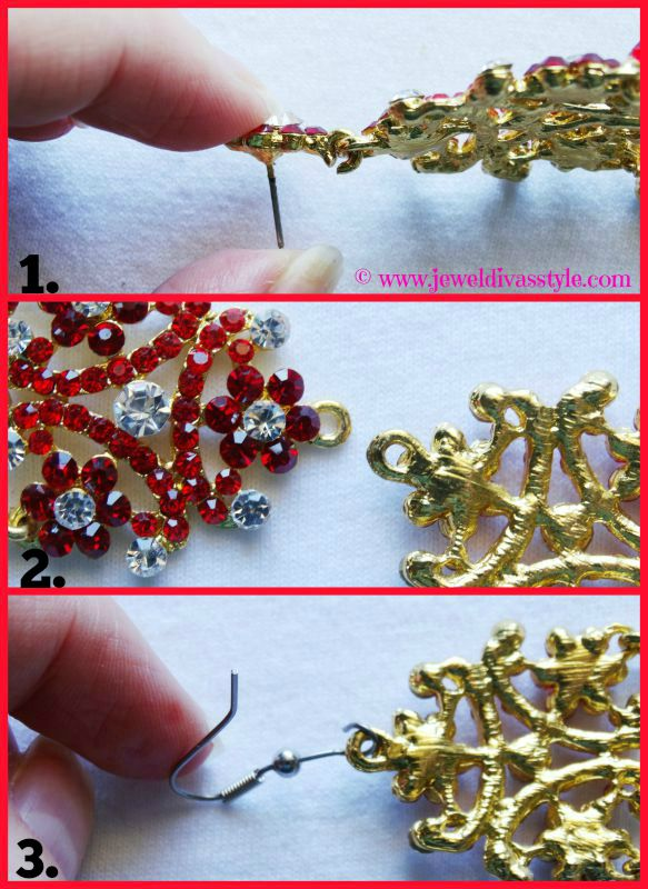 JDS -  HOW TO CHANGE YOUR EARRING STUDS TO HOOKS