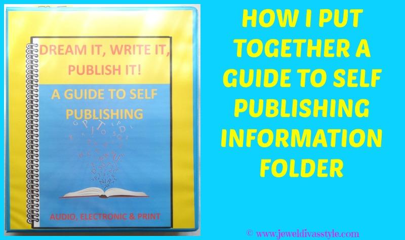 JDS - GUIDE TO SELF PUBLISHING FOLDER