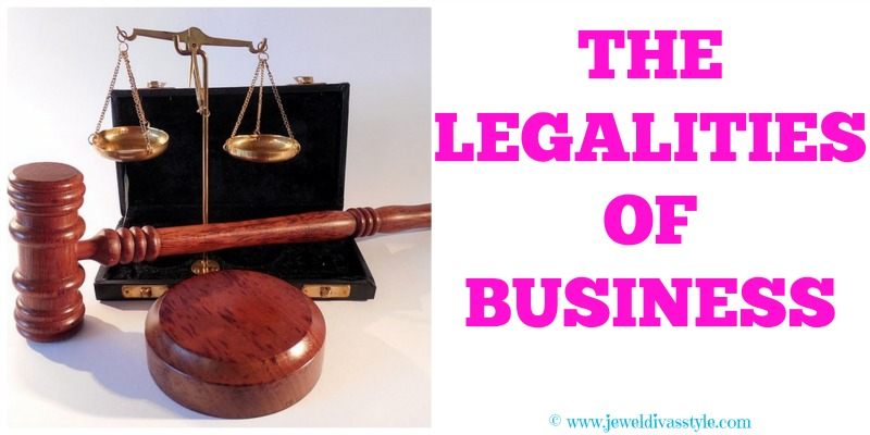 JDS - THE LEGALITIES OF BUSINESS