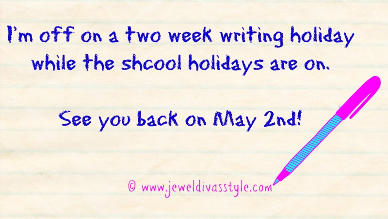 JDS - WRITING HOLIDAY