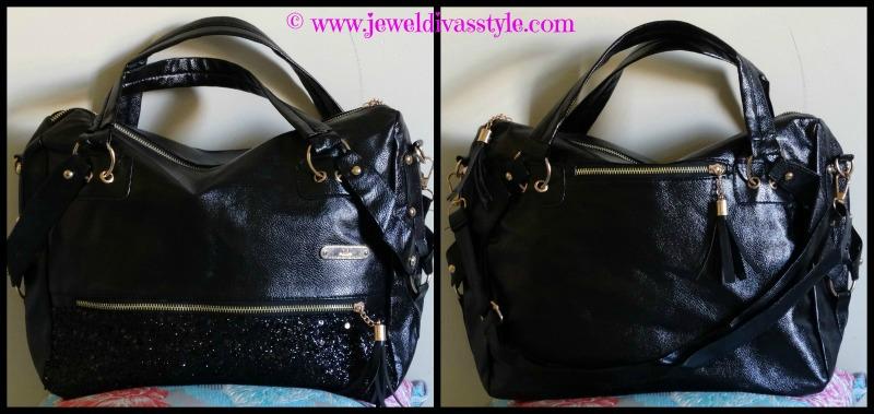 JDS - BLACK SEQUIN BAG
