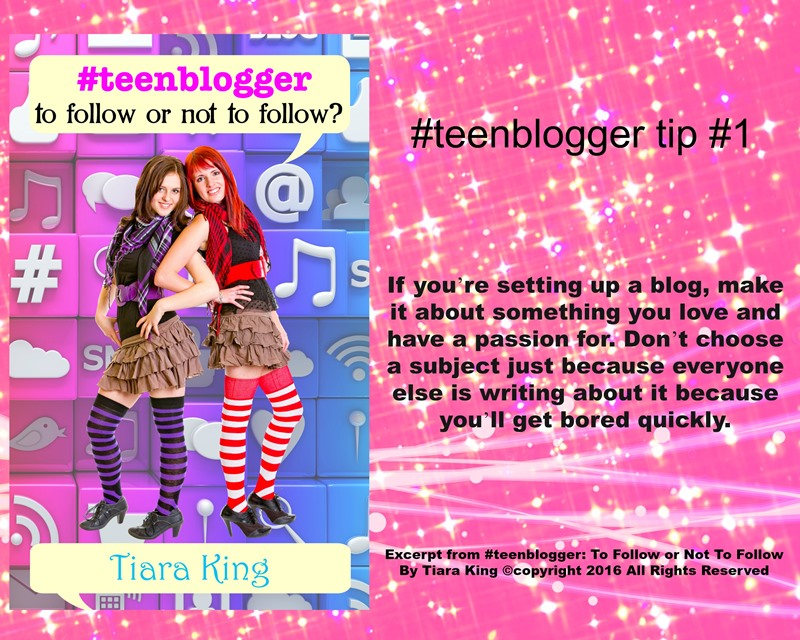 JDS - #TEENBLOGGER BLOG TIP#1