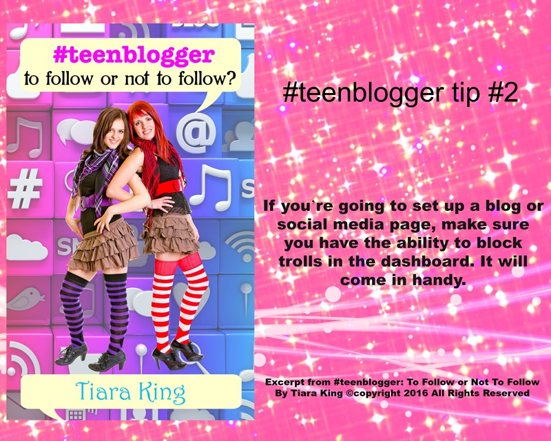JDS - #TEENBLOGGER BLOG TIP#2