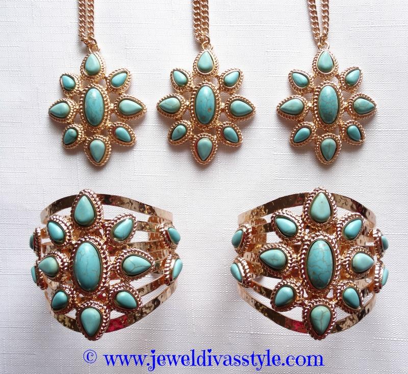 JDS - BLUE JEWELLERY SET1